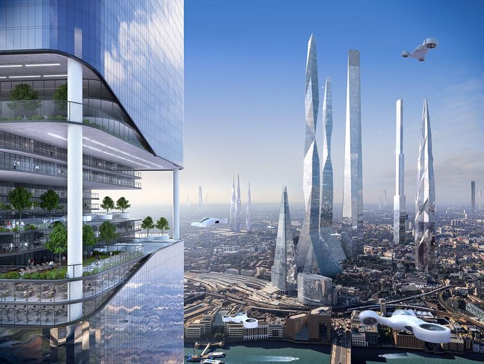 You think London has tall buildings now?