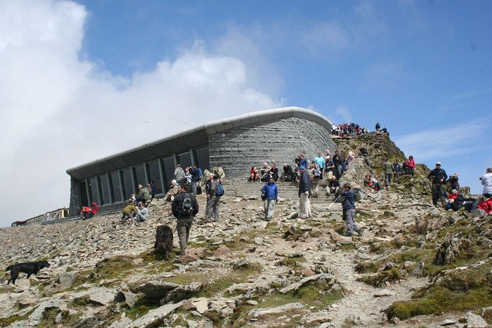 Snowdon Summit Visitor Centre.