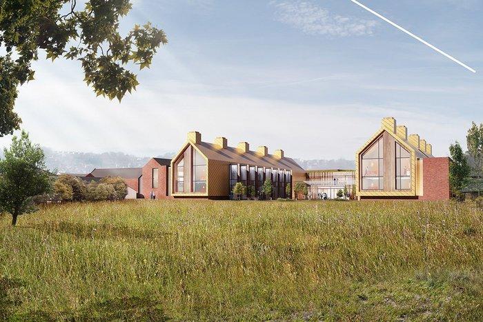 Landscape proposal for Oakland Village & Community Care Centre, Swadlincote.