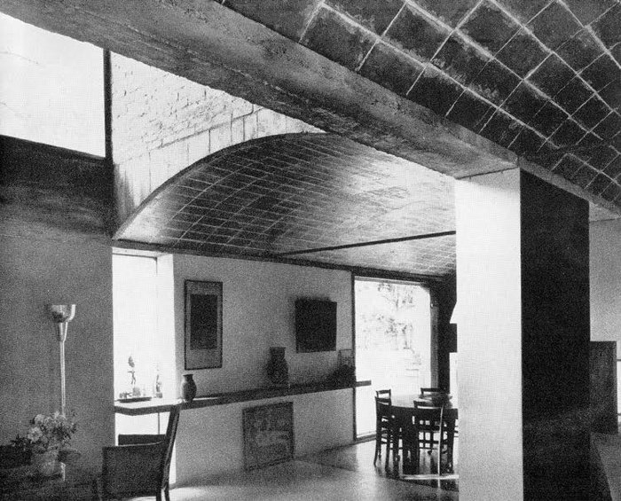 Maisons Jaoul, Neuilly, Le Corbusier, 1956 (designed 1937)