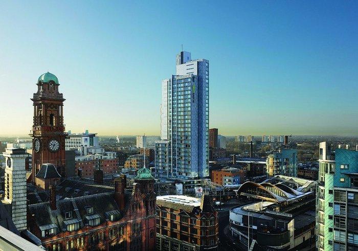 Hodder goes high-rise: Manchester's 'Student Castle' addresses the skyline, 2012.