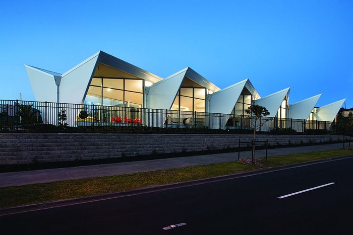 Exterior of Fantails Childcare Early Learning Centre, Auckland, NZ.
