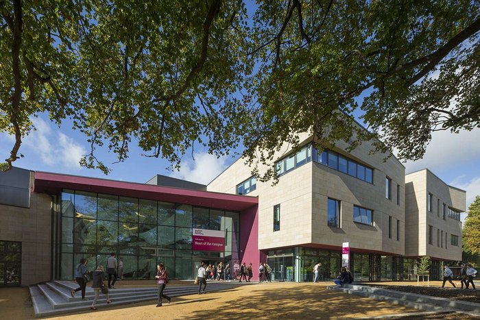 Heart of the Campus, Sheffield Hallam – HLM Architects. Click on image