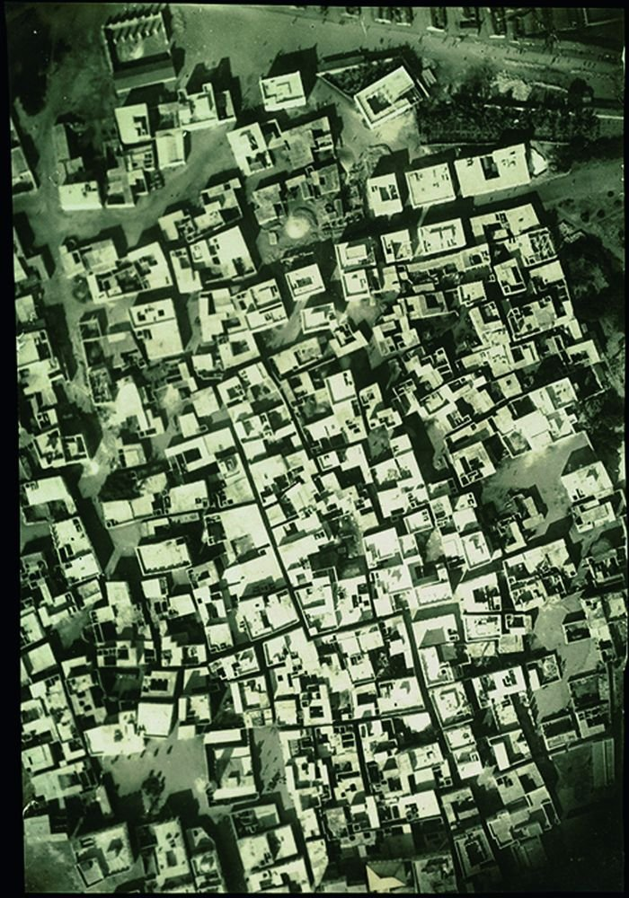 Mogadishu in 1927, altered but more by insertion than elsewhere in the region.