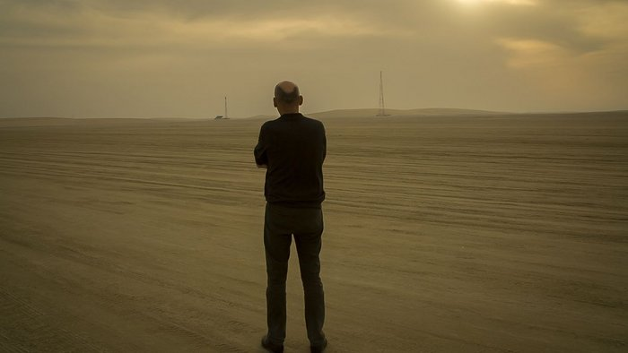 Koolhaas in the dunes
