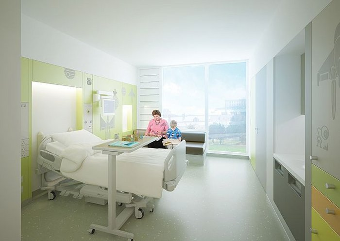 Avanti Architects' new ward at Sheffield Children's Hospital is designed for flexibility.