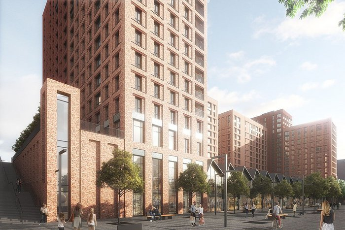 Assael's scheme to redevelop part of the former Boddingtons Brewery in Manchester has been in design pre-planning for eight months.