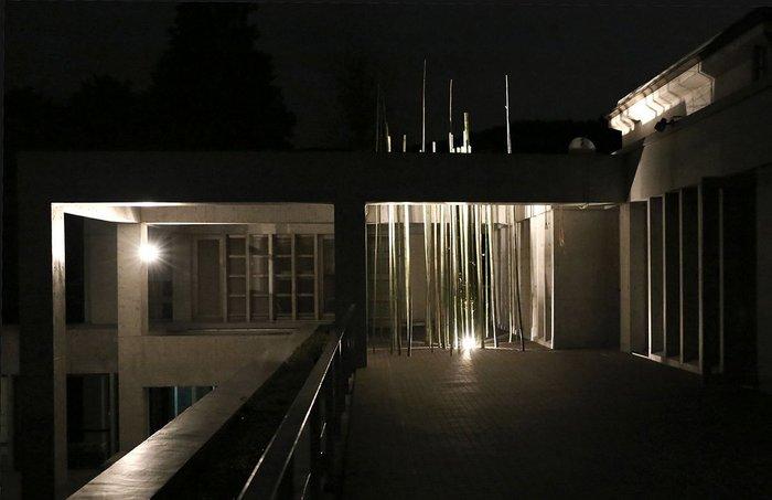 The final intervention at the Villa Kujoyama