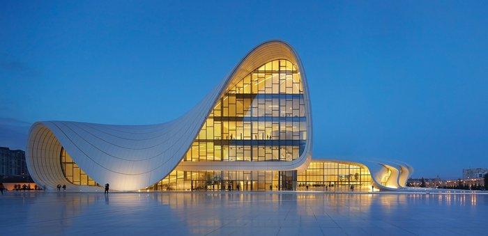 Heydar Aliyev Centre, Baku, Azerbaijan.