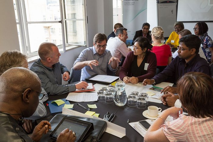 At the heart of the summit was the City Resilience Challenge, a workshop based initiative in which participants came together to study real figures from cities around the globe and address the real life challenges faced by four imaginary cities, collaborating to establish a concept for city resilience, alongside a strategy for achieving it.