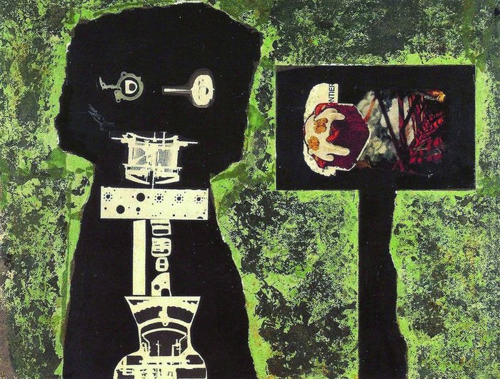 John McHale's Telemath collage.