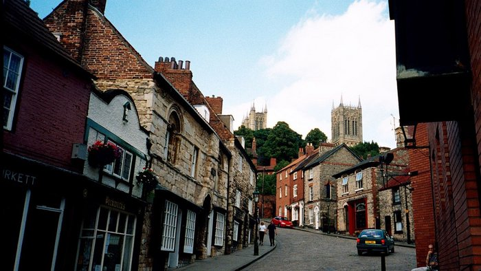 Steep Hill, Lincoln.