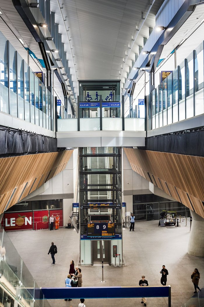 Stannah lifts recently installed at the refurbished London Bridge Station in London.
