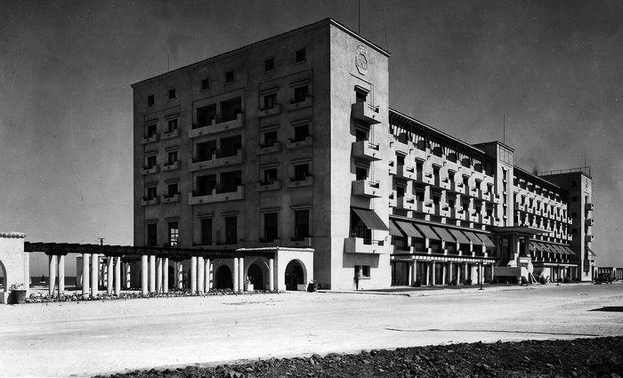 Grand Hotel Rex, Mamaia 1938.