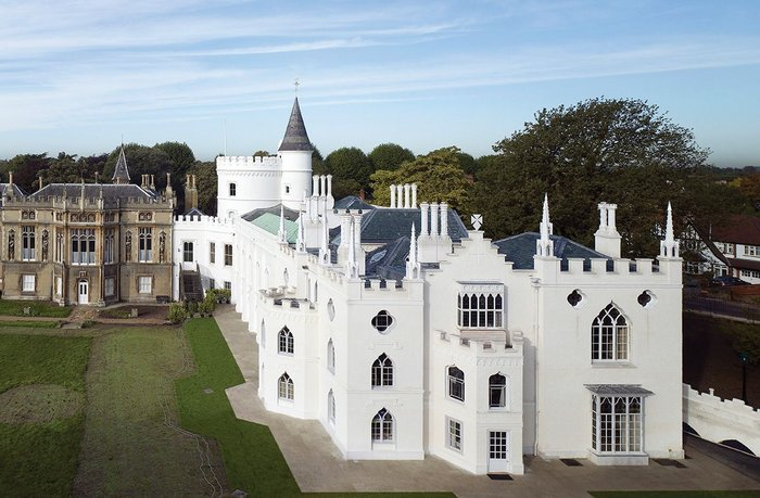 Five new domestic rooms  at the 18th century Strawberry Hill are now open to the public for the first time.