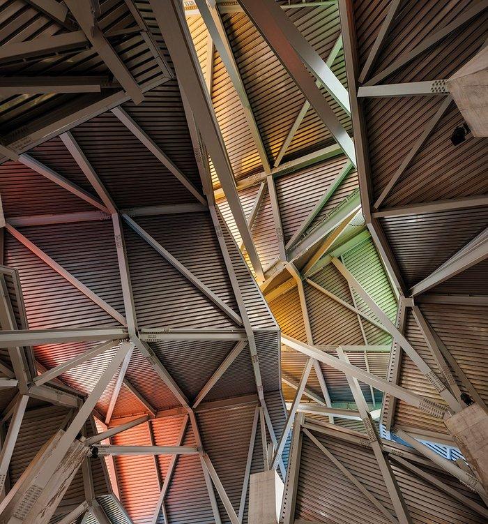 Atrium, Biomuseo, Panama, 2014