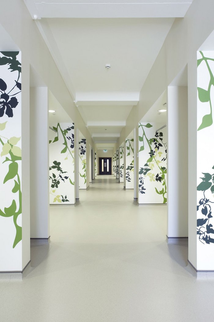 Gerflor flooring at the Circle private hospital in Reading.
