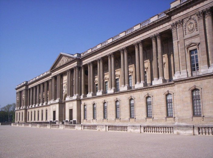 Perrault's Colonnade, East façade of the Louvre, Paris, 1667-70