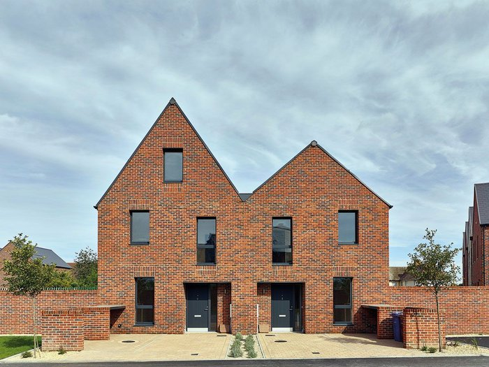 Bell Phillips' St Chad's housing - 128 new homes as part of Thurrock Council's Thurrock Regeneration