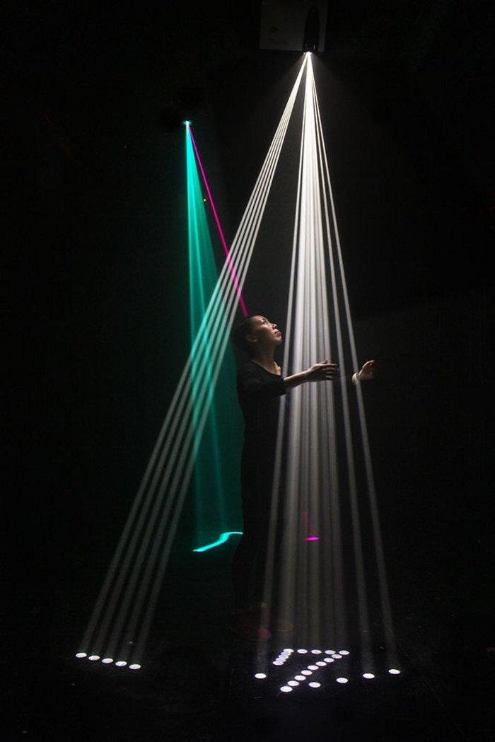 Exploring physical versus virtual reality of space in Assemblance, Umbrellium was commissioned earlier this year by the Barbican as part of the Digital Revolution exhibition.