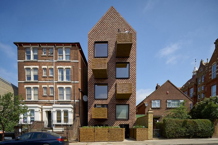 Barrett's Grove in east London by Groupwork + Amin Taha.
