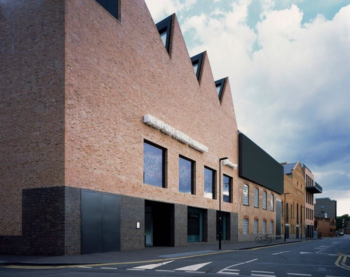 Newport Street Gallery in Vauxhall, London designed by Caruso St John with brickwork by Northcot.