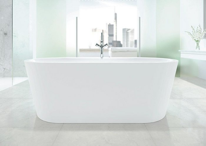 Kaldewei Meisterstück Classic Duo Oval freestanding bath.