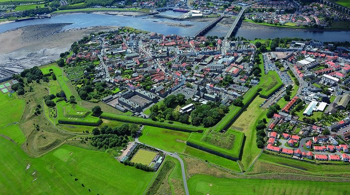 Everybody keep out: Berwick's fortifications are largely unsung but of critical importance preserving Englishness.