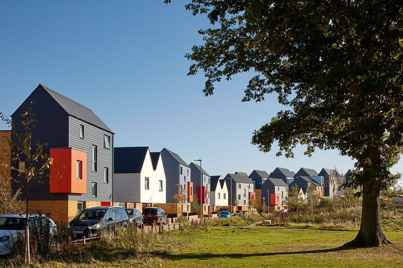 Wallis Fields by AHR. A 180-home, predominantly affordable scheme in Maidstone.
