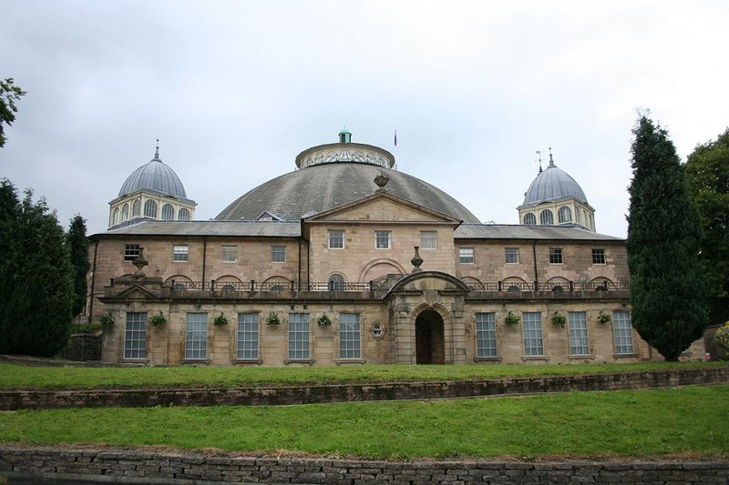 The Devonshire Dome (formerly the Devonshire Royal Hospital), Buxton; Robert Rippon Duke, 1881