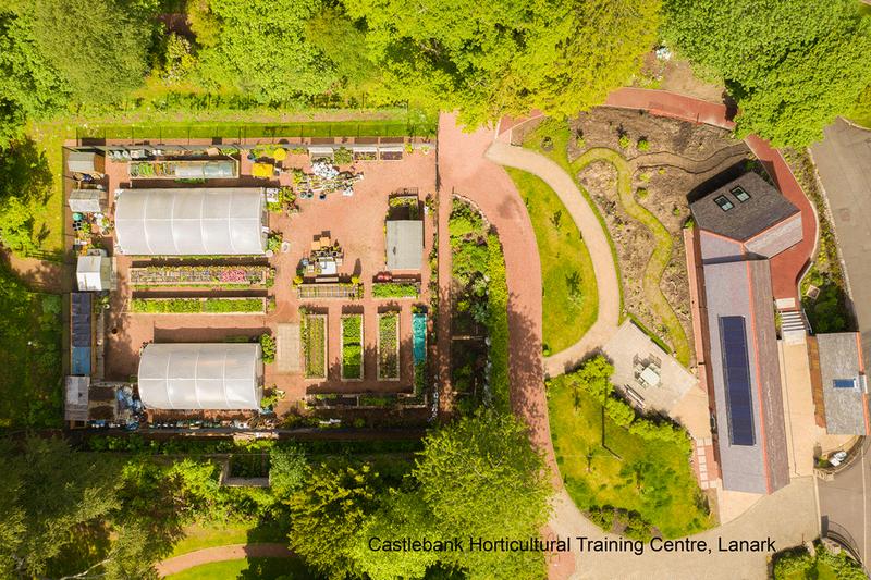 Castlebank Horticultural TTraining Centre in Lanark. Credit EKJN