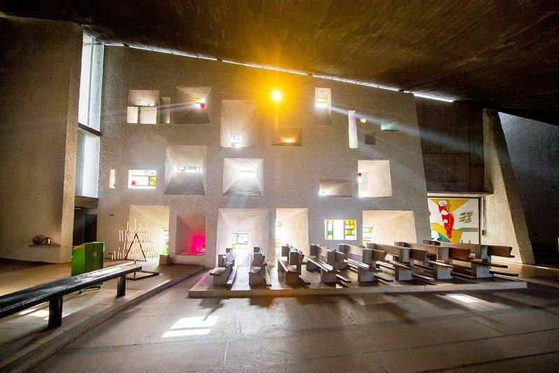 Chapel of Notre Dame du Haut, Ronchamp Le Corbusier