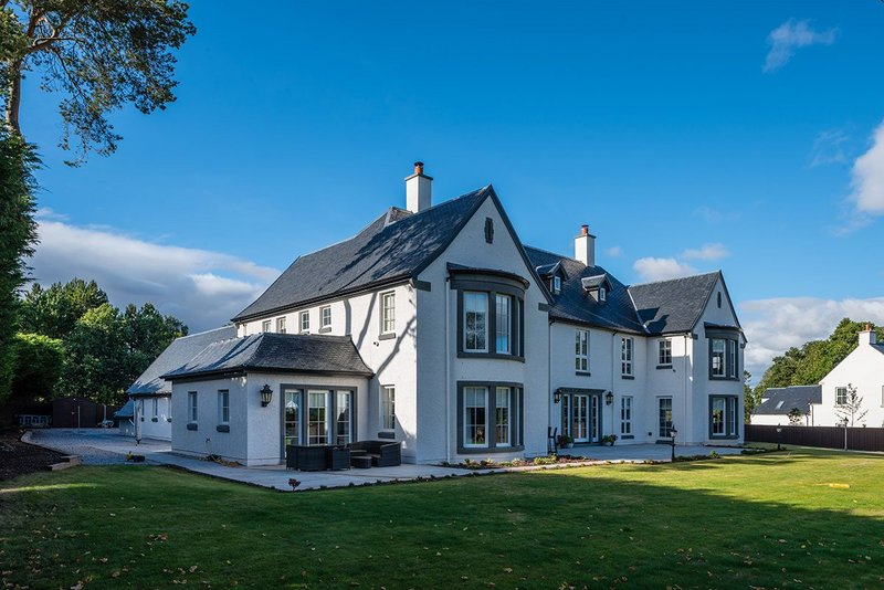 The Pines, Auchterarder. 'Slate was our first choice as it was familiar locally,' says architect Fiona Robinson.