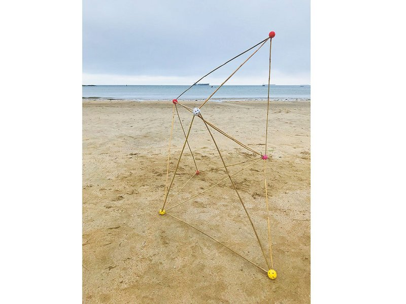 Rule of 6, test for studio beach project at Falmouth School of Architecture.