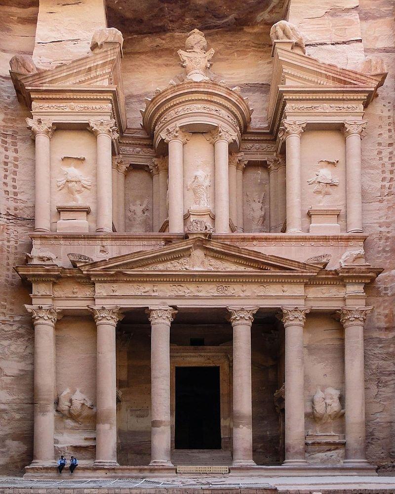 The Treasury, Petra 1st century AD