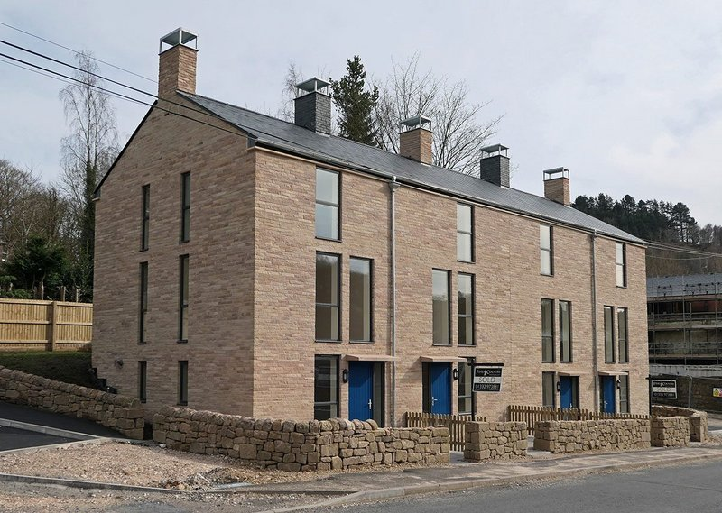 Simple but effective - new homes informed by the vernacular of millworker cottages