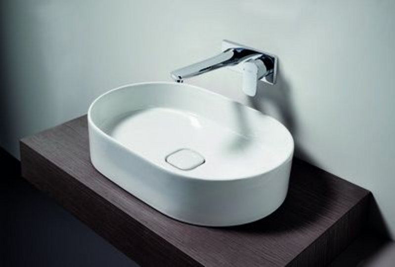 Fusaro basin shapes include refined ovals, circles, rectangles and squares to realise every interior vision.