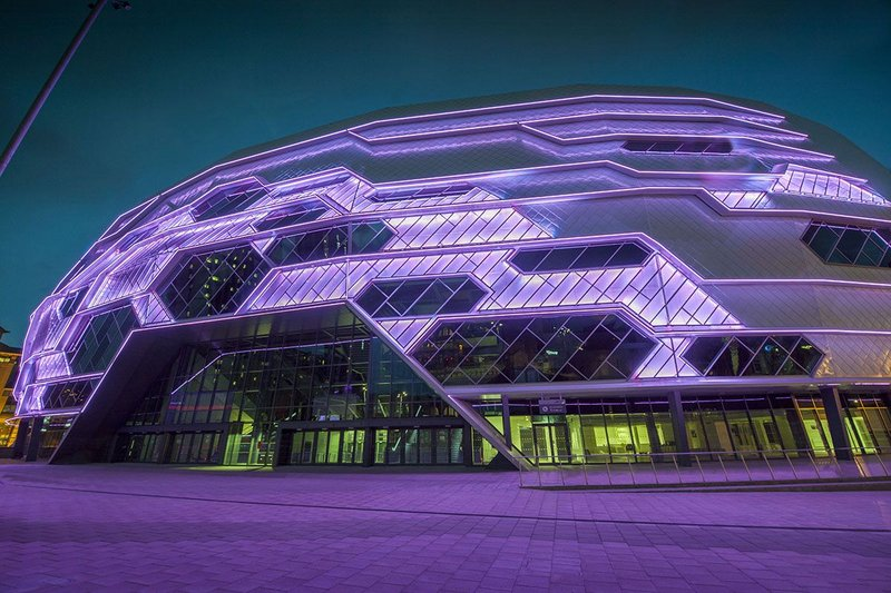 First Direct Arena, Leeds – Populous. Click on image