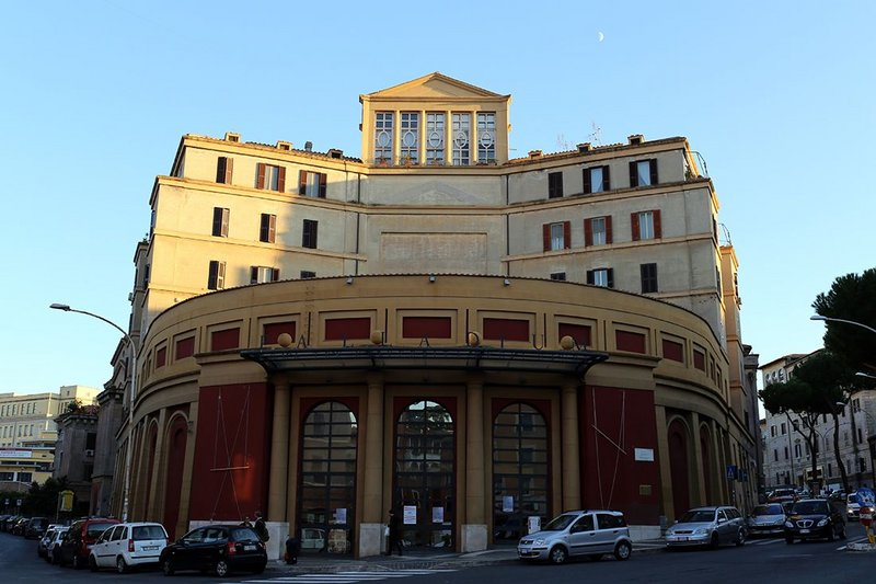 Cinema-Theatre, Piazza Romano, Garbatella, 1927-30