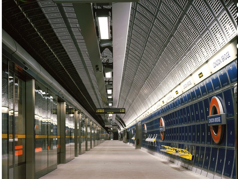 The Jubilee Line station at London Bridge.