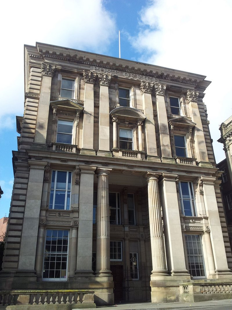 Newcastle's Old Post Office.