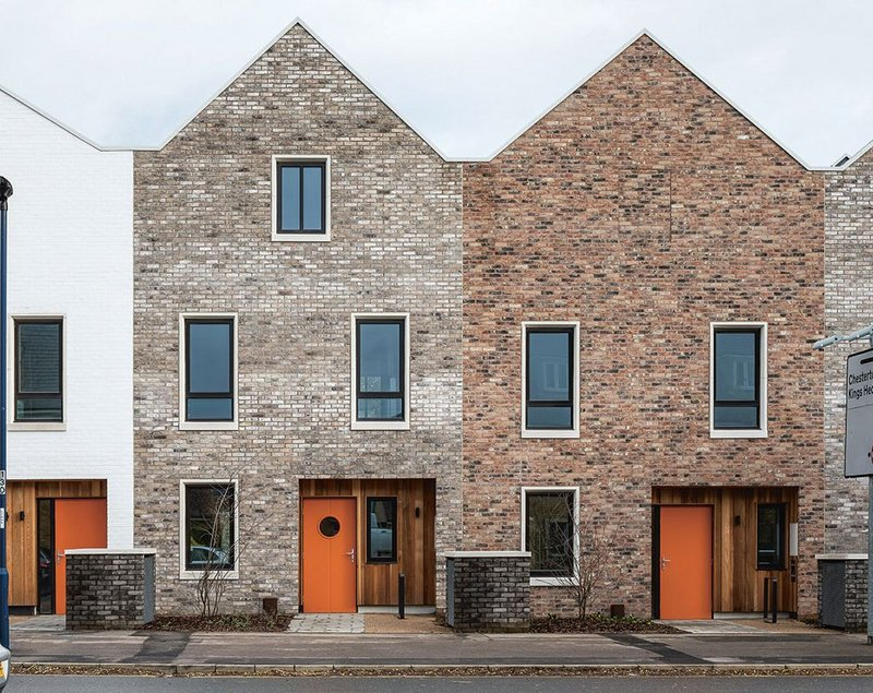 Mole Architects' Marmalade Lane co-housing project in Cambridge.