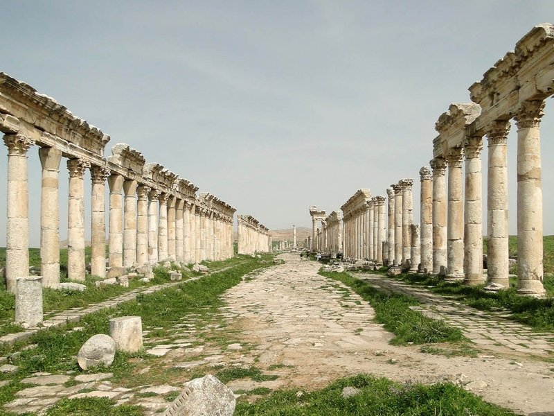 Great Colonnade, Apamea, Syria, 2nd Century AD
