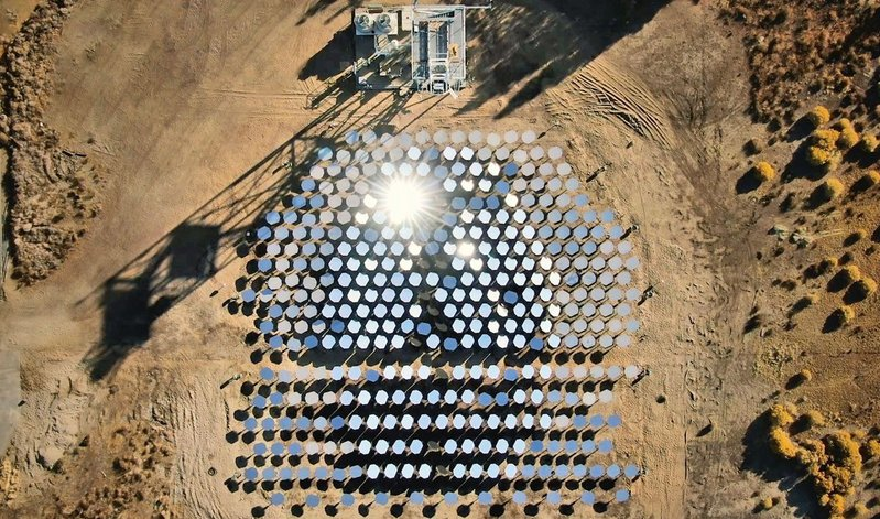 Heliogen concentrates solar energy onto a target to generate temperatures of up to 1,500oC, enough to power heavy industry.