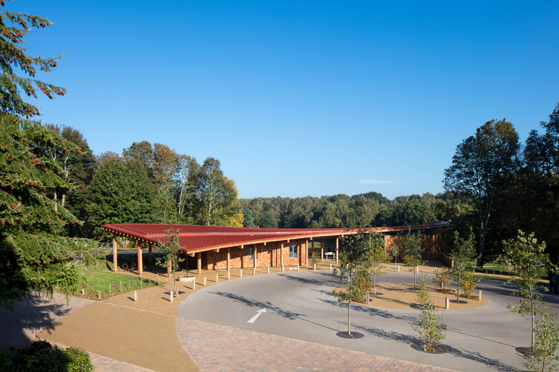East Midlands winner: Sherwood Forest Visitor Centre for the RSPB designed by JDDK Architects.