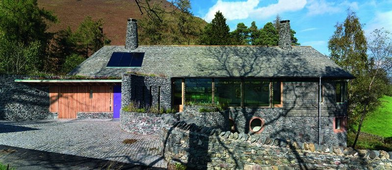 Searching for a winner, client Charles Carter found Knox  Bhavan to design his Lake District getaway.