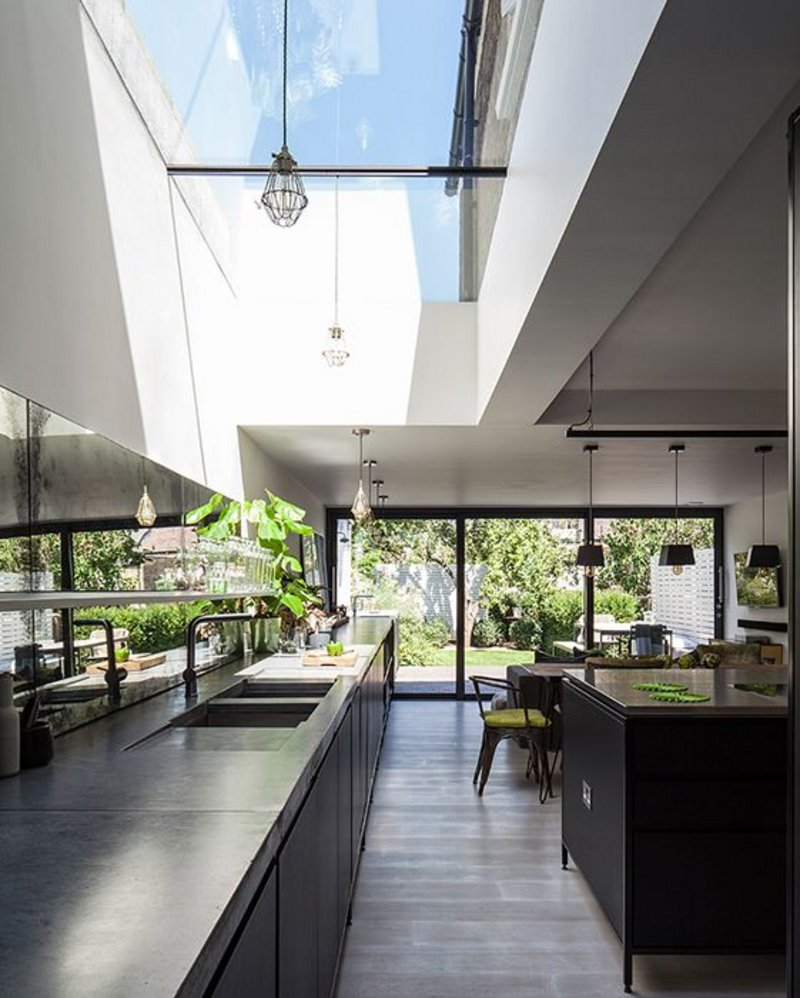 The Glazing Vision Flushglaze rooflight, specified by Trevor Brown Architects.