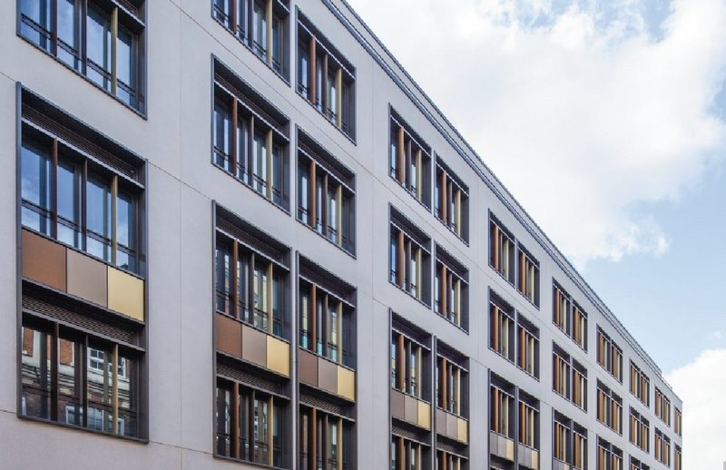 The 419 rooms at Chapter Old Street student accommodation in Paul Street, Shoreditch required a good supply of clean, healthy fresh air.