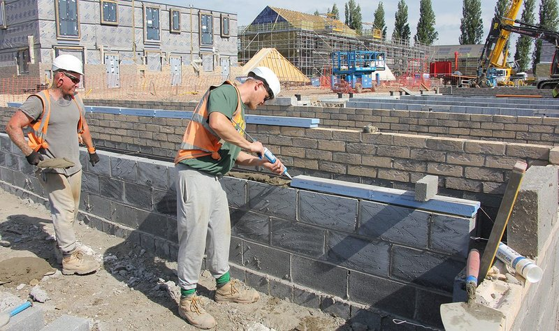 Alfa Site Services install Marmox Thermoblock breaks in Selby, North Yorkshire: 'A significant project that could represent the way ahead for construction.'