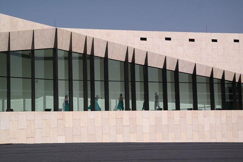 Palestinian Museum designed by Heneghan Peng.